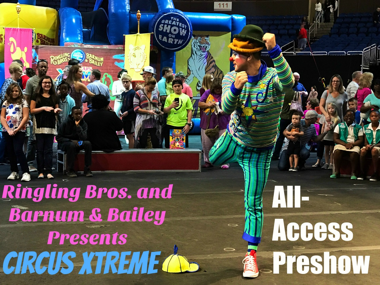 2017 Ringling Bros Circus Xtreme Preshow Video Slide