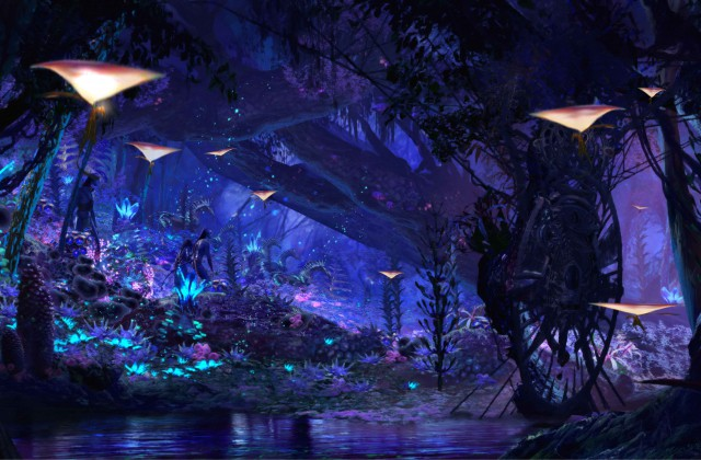 Pandora the World of Avatar Opening May 27 2017 2017 Walt Disney World - Avatar Navi River Journey