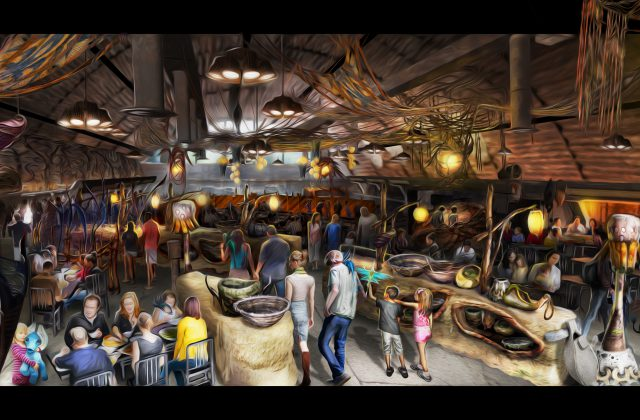 Pandora the World of Avatar Opening May 27 2017 2017 Walt Disney World - Avatar Restaurant