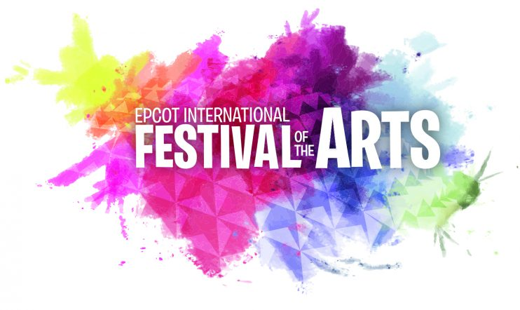 2017 Walt Disney World - Epcot International Festival of the Arts Logo