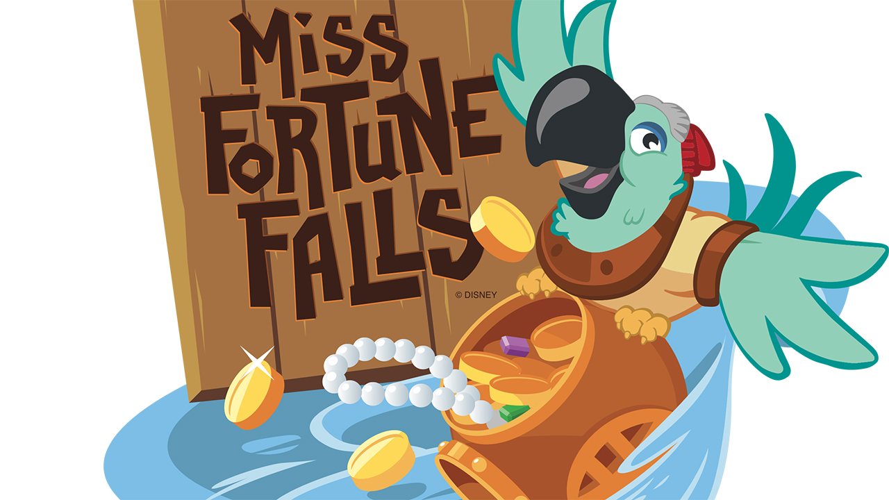 2017 Walt Disney World - Miss Fortune Falls Logo