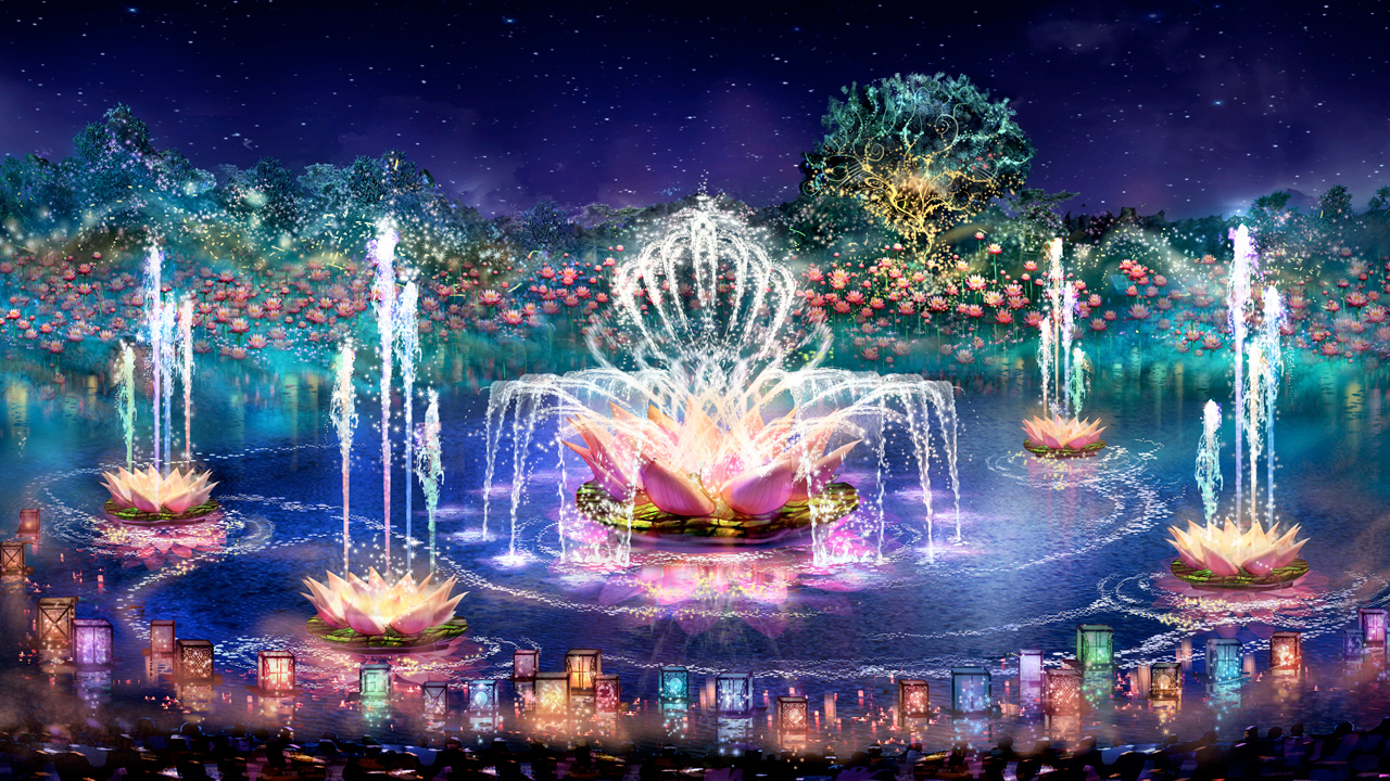 2017 Walt Disney World - Rivers of Light Rendering