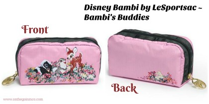 Disney Bambi by LeSportsac Bambis Buddies Case
