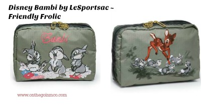 Disney Bambi by LeSportsac Friendly Frolic Collage