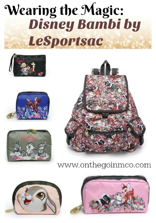 Disney Bambi by LeSportsac Spring Collection