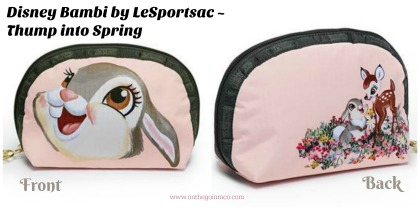 Disney Bambi by LeSportsac Thump into Spring collage