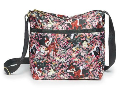 Disney Bambi by Lesportsac Bambi and Friends Small Cleo Crossbody