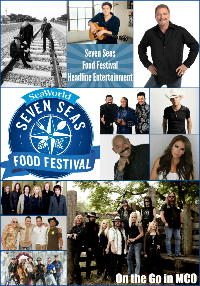 SeaWorld Orlando Seven Seas Food Festival Headline Entertainment 2017