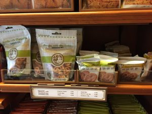 Dining with a Food Allergy at Walt Disney World food allergy snacks Snacks with Character pretzels and cookies