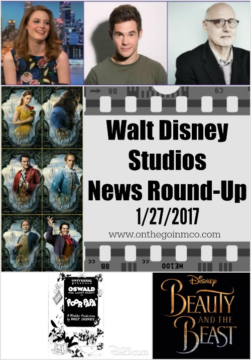 Walt Disney Studios News Round-Up 01 27 2017 Pinterest