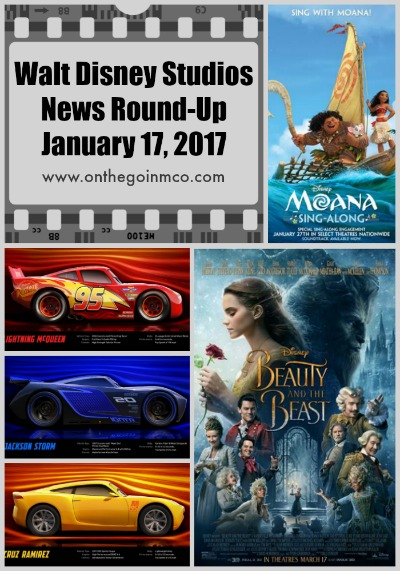 Walt Disney Studios News Round-Up January 17 2017