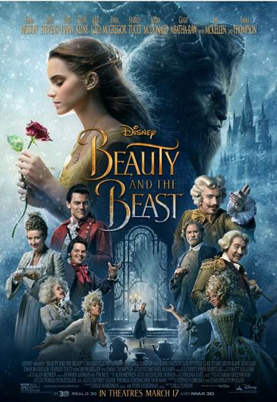 Walt Disney Studios News Roundup 1 17 17 - Beauty and the Beast Poster
