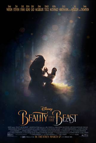2017 Walt Disney Studios Motion Picture Slate - Beauty and the Beast poster
