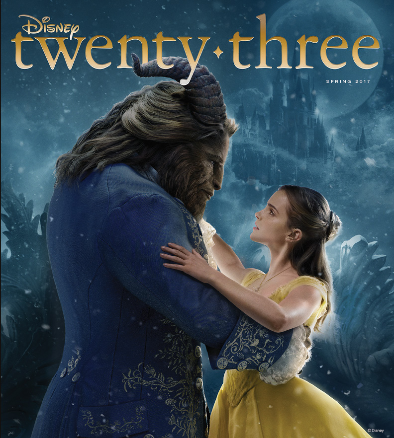 2017 Spring Disney Twenty Three D23 Beauty and the Beast