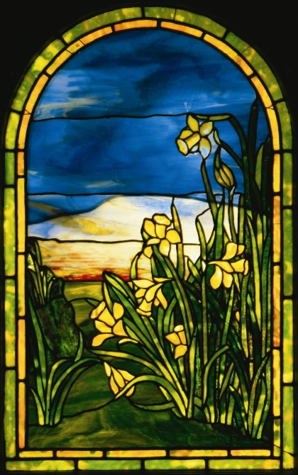 The Morse Museum Daffodils window