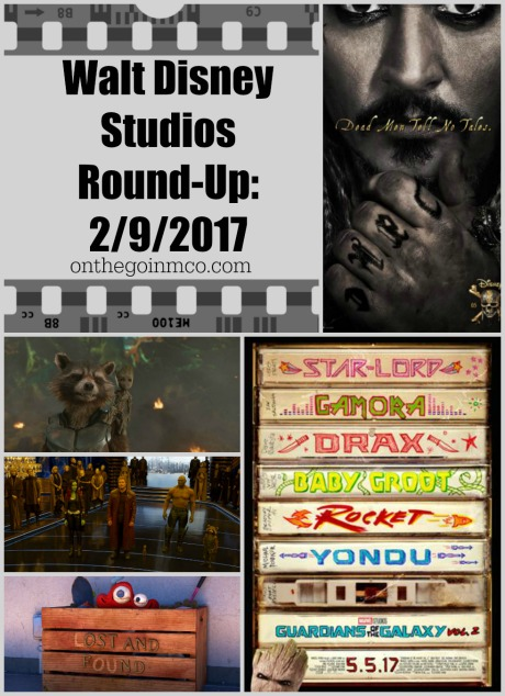 Walt Disney Studios Round Up February 9 2017