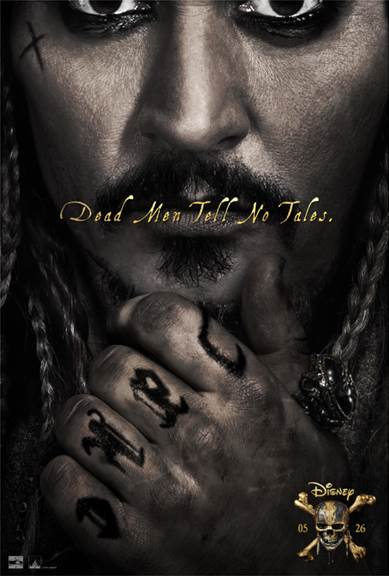 Pirates of the Caribbean Dead Men Tell No Tales Poster Disney Movie News February 9 2017