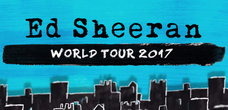 Ed Sheeran 2017 Tour Amway Center