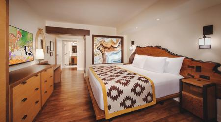 DVC Copper Creek Villas and CabinsOne-Bedroom Villa Interior