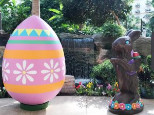 Gaylord Palms Easter 2017 - Large Chocolate bunny