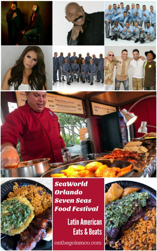 SeaWorld Orlando Seven Seas Food Festival Latin American Additions 2017