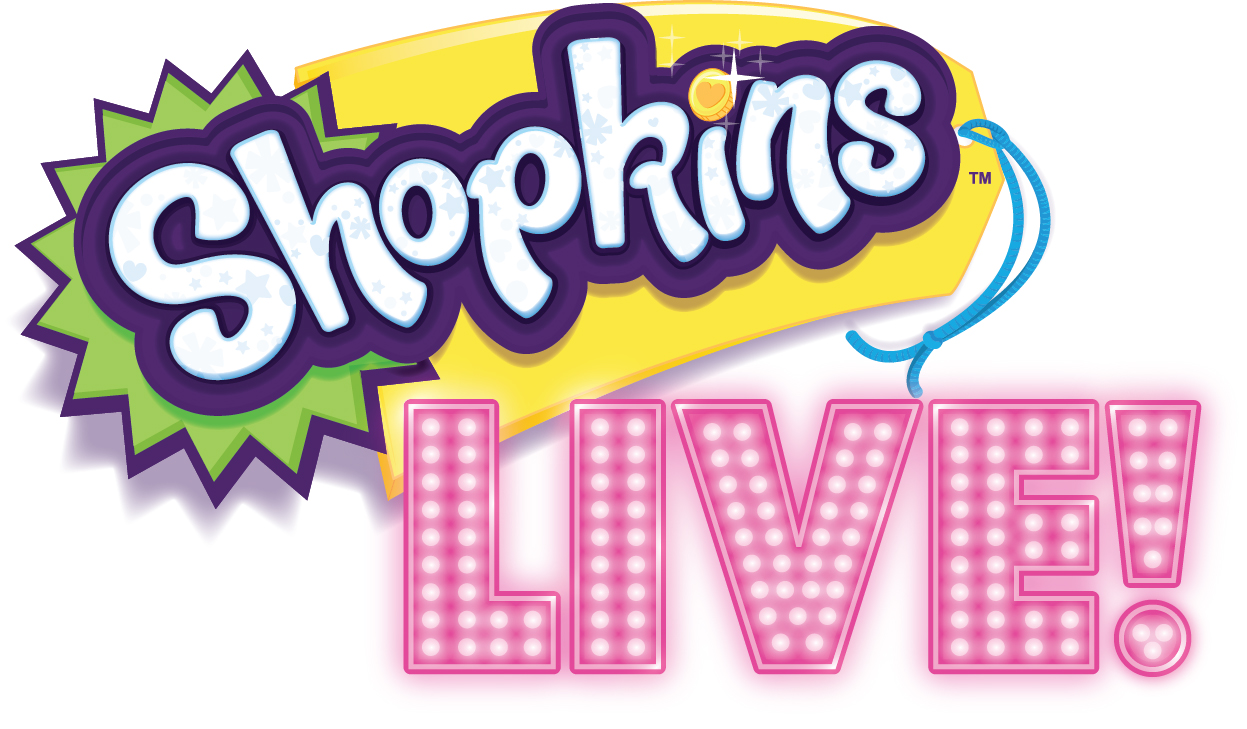 Shopkins Live Dr. Phillips Center for the Performing Arts Logo 2018