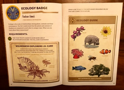 Experiencing Pandora The World of Avatar - Wilderness Explorers Badges - Ecology Badge
