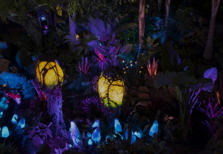 Pandora the World of Avatar Before You Go - Pandora at Night