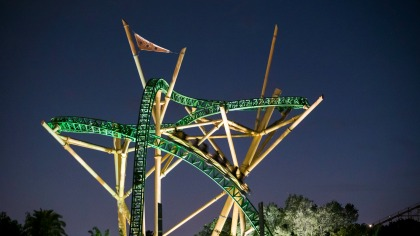 Busch Gardens Tampa Bay Summer Nights 2017