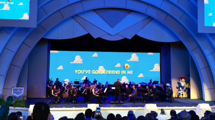 's Hollywood Studios Summer 2017 Additions - Pixar Live in Concert Final Sing Along