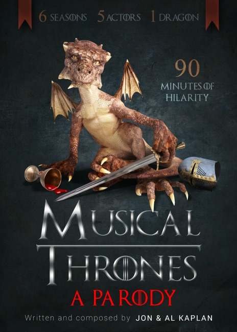Musical Thrones Paraody Dr. Phillips Center Orlando 2017