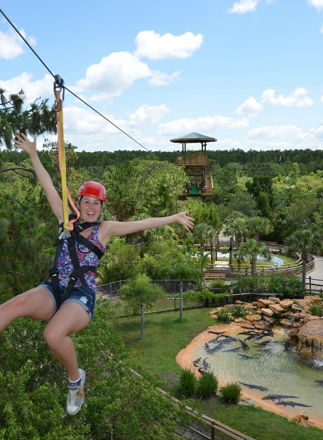 Screamin Gator Zip Line Gatorland