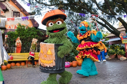 Sesame Street Kids' Weekends October 2017 Halloween Busch Gardens Tampa Bay