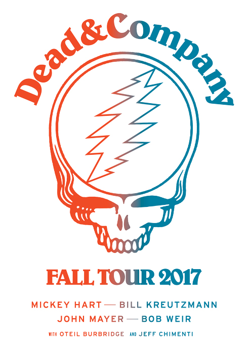 Dead and Company Fall Tour 2017 Amway Center Logo