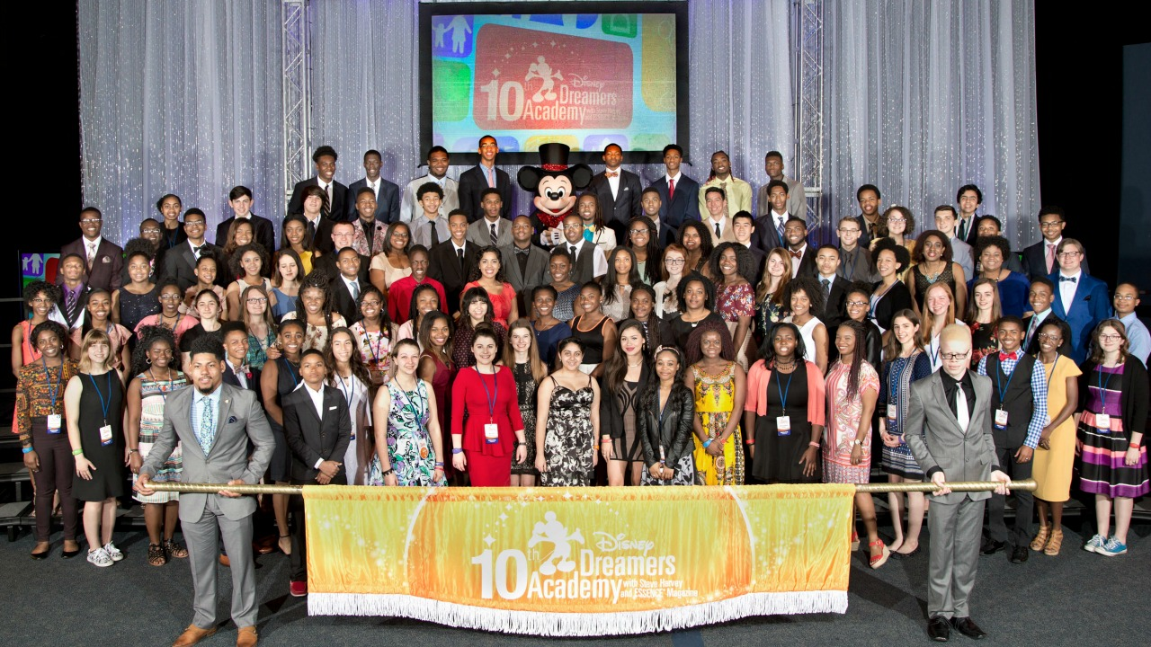 2017 Disney Dreamers Academy Group
