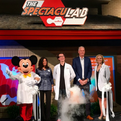 The SpectacuLAB Epcot - Grand Opening Moment