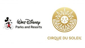 Cirque du Soleil and Walt Disney World Logo