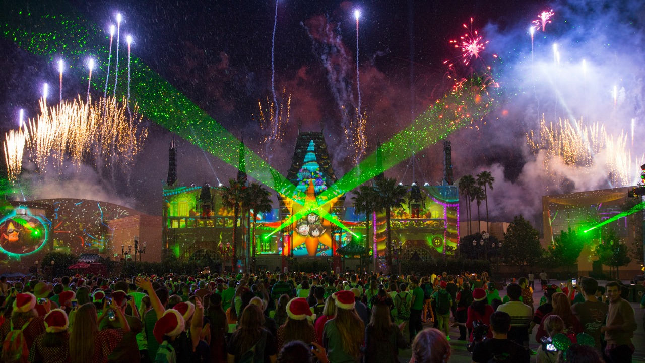 Flurry of Fun Disney's Hollywood Studios Walt Disney World New Year's Eve Christmas 2019 Walt Disney World Holidays 2019 Christmas in July