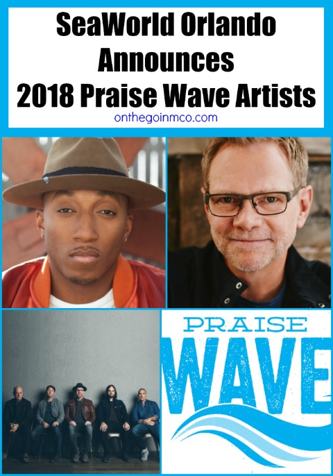 SeaWorld Orlando 2018 Praise Wave Artists
