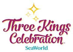 Three Kings Celebration SeaWorld Orlando 2017 Logo