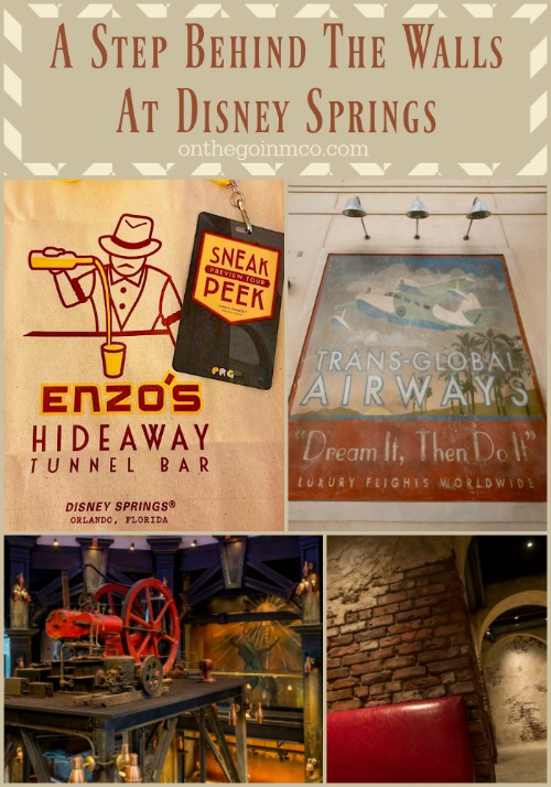2017 Behind the Walls at Disney Springs 2017