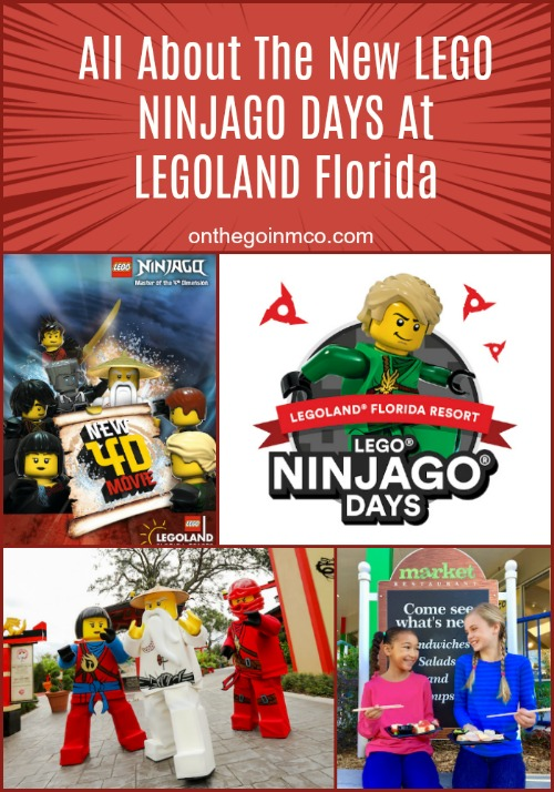All About The New LEGO NINJAGO DAYS At LEGOLAND Florida 2018
