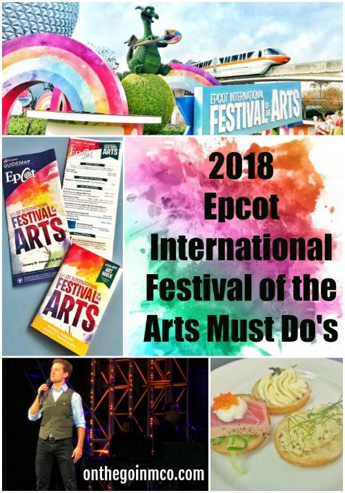 Epcot International Festival of the Arts 2018 Walt Disney World