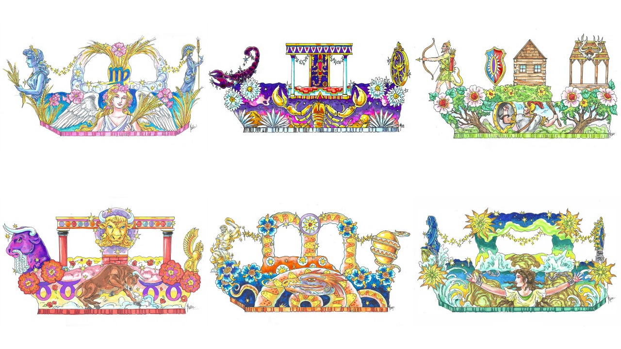 Universal Orlando Mardi Gras 2018 New Parade Floats
