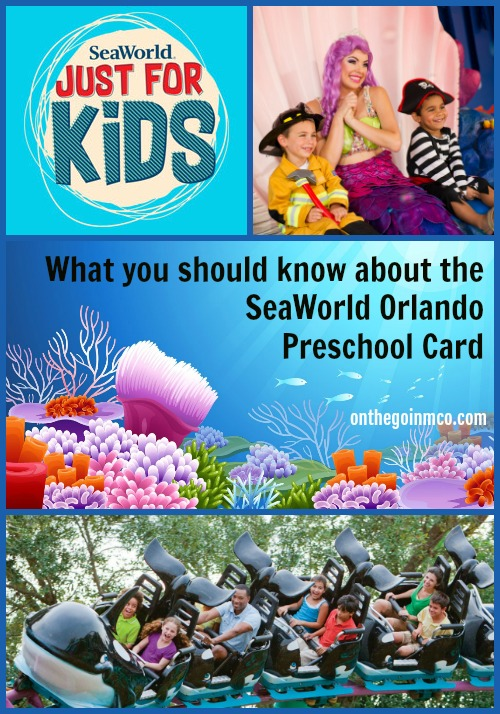 What to know SeaWorld Orlando Preschool Card
