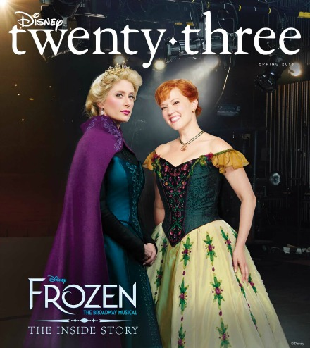 Spring 2018 D23 Disney TwentyThree Cover