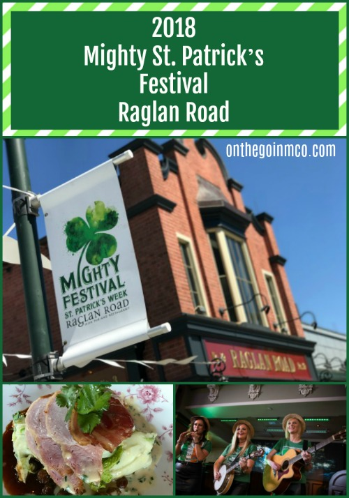 Raglan Road 2018 Mighty St. Patrick's Festival