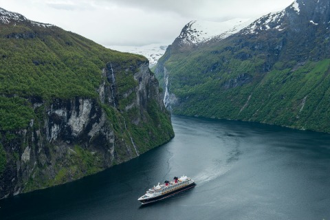 Disney Cruise Line Geiranger, Norway