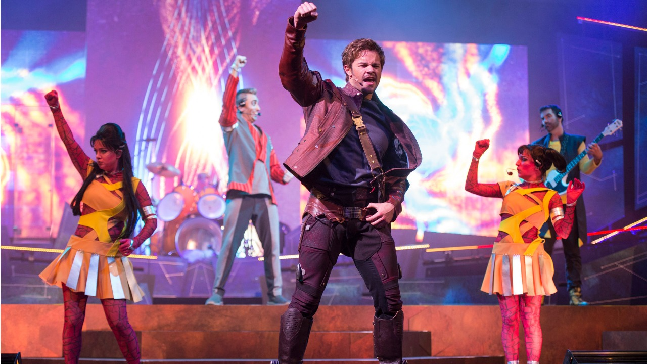 Theme Parks Thoughts When Summer Ends - Guardians of The Galaxy Live Concert Epcot
