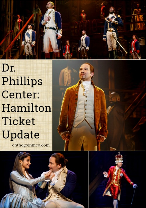 Dr. Phillips Center: Hamilton Ticket Update
